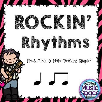 Rocking Rhythms Flash Cards - Ta TiTi