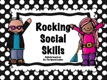 Rocking Social Skills: Bulletin Board Set