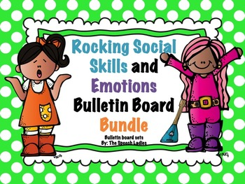 Speech Bulletin Board: Rocking Social Skills and Emotions Bundle