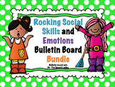 Speech Bulletin Board: Rocking Social Skills and Emotions Bundle