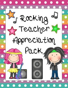 Rocking Teacher Appreciation Pack