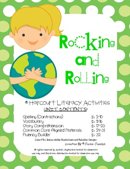 Rocking and Rolling (Harcourt Supplemental Materials)