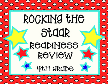 Rocking the STAAR Readiness Review- Task Cards 5 Sets