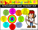 Rocking with R Goal Tracker Kit: Track R Articulation Goals with Ease.