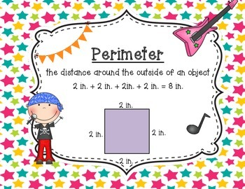 Rocking with Area and Perimeter Posters