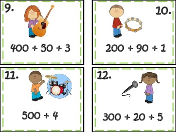 Place Value Rock'n It!! ( Numbers Operations Base Ten)