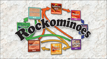 Rockominoes Educational Tabletop Game and Lesson Plan, Compete