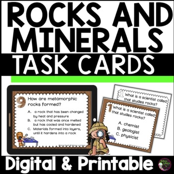 Rocks  (24 Task cards)