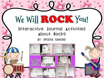 Rocks (6 Interactive & Fun Journal Activities!)