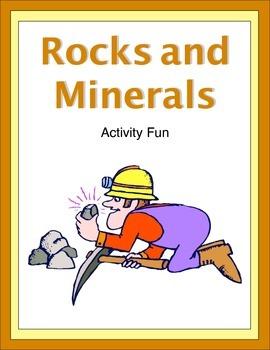 Rocks and Minerals Activity Fun