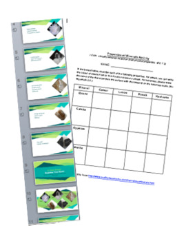 Rocks And Minerals: Introductory Powerpoint and Activities