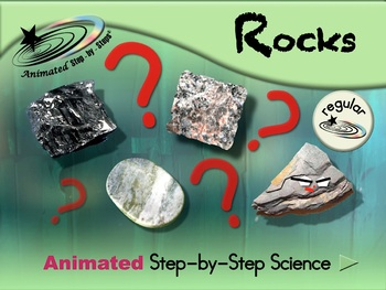 Rocks - Animated Step-by-Step Science - Regular