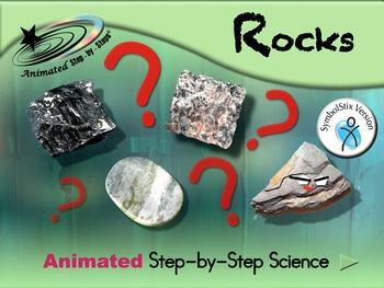 Rocks - Animated Step-by-Step Science - SymbolStix