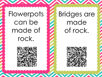 Rocks Around Us with QR Codes