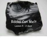 Rocks Can Melt battle creek lesson 5  The Planet Rock