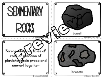Rocks Card Sort