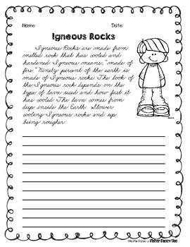 Rocks Cursive Practice
