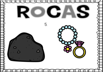 Rocks Digital Activity in English and Spanish