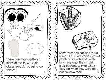 Rocks Emergent Reader