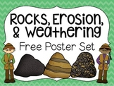Rocks, Erosion, & Weathering Poster Set