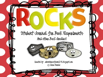 Rocks Experiments Journal and other Rock Goodies!