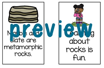 Rocks: Fact and Opinion