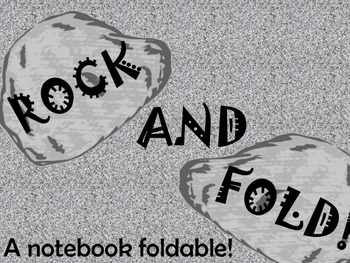 Rocks Foldable (Interactive Notebook)