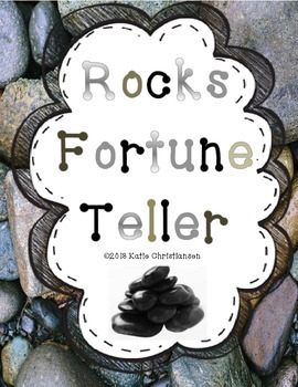 Rocks Fortune Teller and Crossword