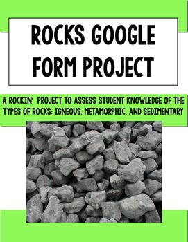 Rocks Google Form Project