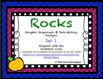 Rocks Graphic Organizers Set 1