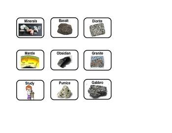 Rocks: IGNEOUS Rock VENN DIAGRAM (2 Levels-Modified)