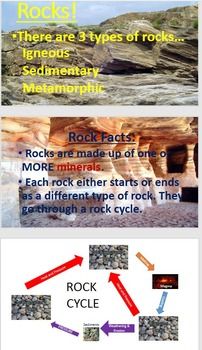 Rocks - Igneous, Metamorphic, and Sedimentary
