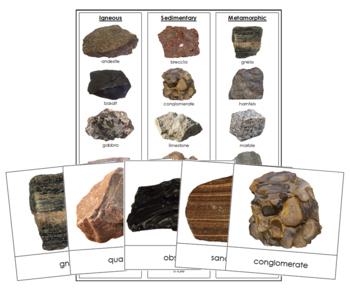 Rocks: Igneous, Sedimentary, Metamorphic
