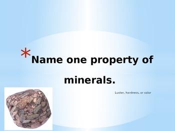 Rocks Jeopardy and Word Splat!
