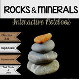 Rocks & MInerals Interactive Science Notebook and MORE