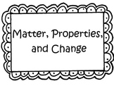 Rocks- Matter, Properties, and Change 4th Grade