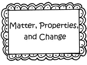 Rocks- Matter, Properties, and Change 4th Grade