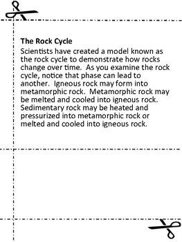Rocks & Minerals Activities
