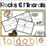 Rocks and Minerals Worksheets Interactive Foldable Book