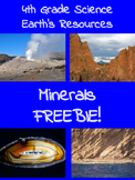 Rocks & Minerals FREEBIE