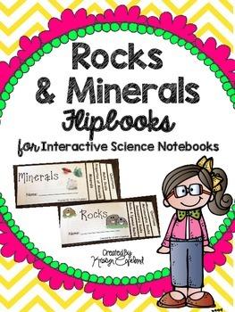 Rocks & Minerals Flipbooks  (Interactive Notebooks)