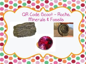 QR Code Scoot - Rocks, Minerals & Fossils