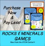 Rocks & Minerals Games!