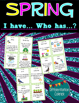 Spring Vocabulary Building Game