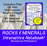 Rocks & Minerals Interactive Notebook - Distance learning Friendly