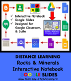 Rocks & Minerals Interactive Notebook Google Slides - Distance Learning Friendly