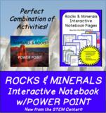 Rocks & Minerals Interactive Notebook & Power Point Presentation