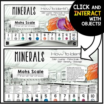 Rocks and Minerals PowerPoint - Interactive