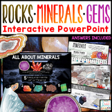 Rocks and Minerals Google Slides Distant Learning | Intera