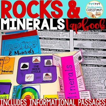 Rocks and Minerals Lapbook: Interactive Kit